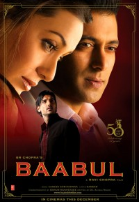 Baabul Cover / Poster