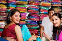 indische Schals & Saris aus Indien