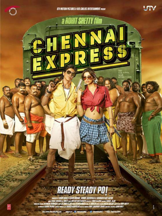 Chennai Express DVD Cover