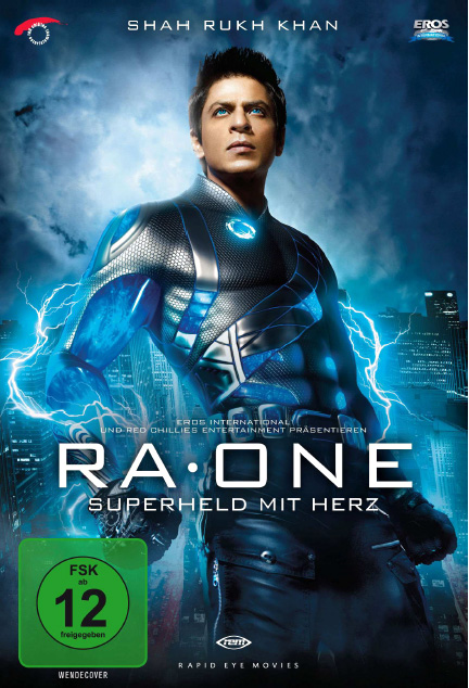 Ra.One DVD Cover