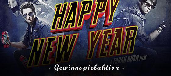 Gewinnspiel Happy New Year