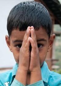 indische Begrüßung (©namaste / ellen reitman)