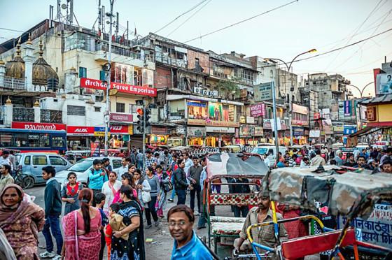 indische Bevölkerung