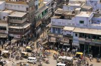 indische Stadt