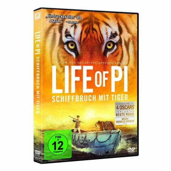 Life of Pi DVD-Cover